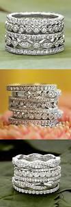 Tiffany Ring Verlobung : love these dazzling diamond wedding bands rings pinte ~ Orissabook.com Haus und Dekorationen