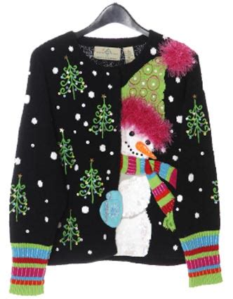 up fashion ugly christmas sweaters
