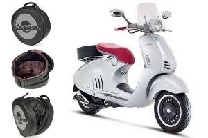 Modification Vespa 946 by Vespa Piaggio Design Helmet Bag In Synthetic Leather For
