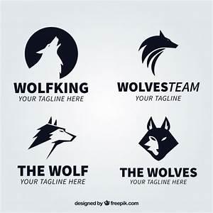Symbole Du Loup : collection moderne logo logo du loup noir t l charger ~ Melissatoandfro.com Idées de Décoration