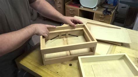 spring open drawer box youtube