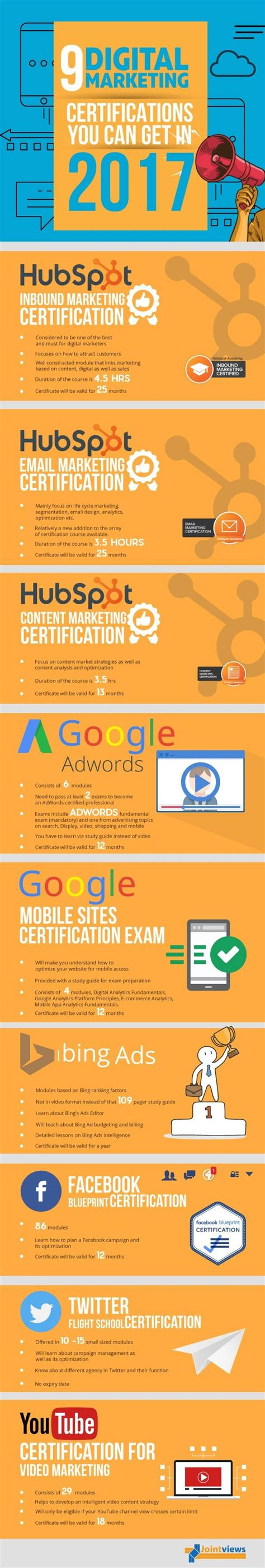 Top Digital Marketing Certifications by 14153 Best Infographics Images On