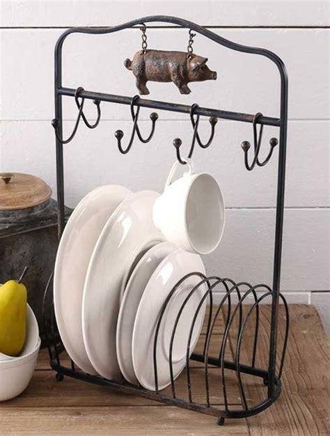 farmhouse plate rack  hooks kitchen hooks platerack plate racks modern kitchen