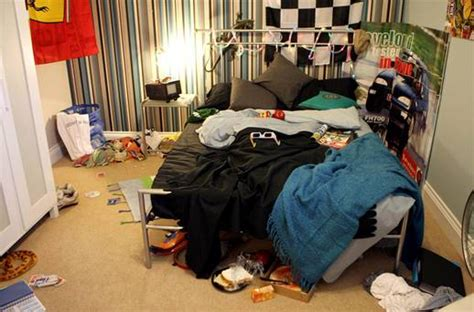Messy Teenager Bedrooms Knock Money Off The
