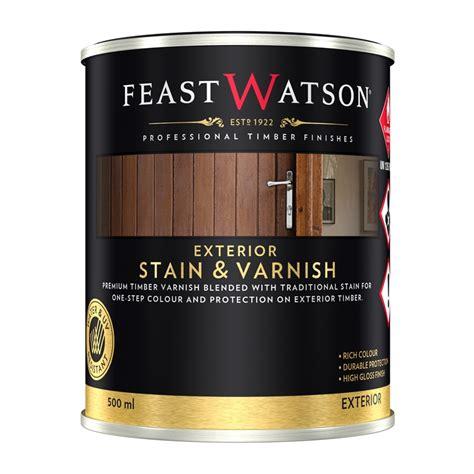 feast watson ml exterior stain varnish black japan