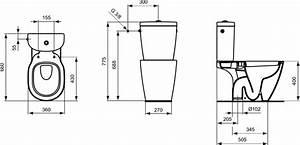 Wc Sortie Vertical : product details e8235 wc avec sortie verticale ~ Premium-room.com Idées de Décoration