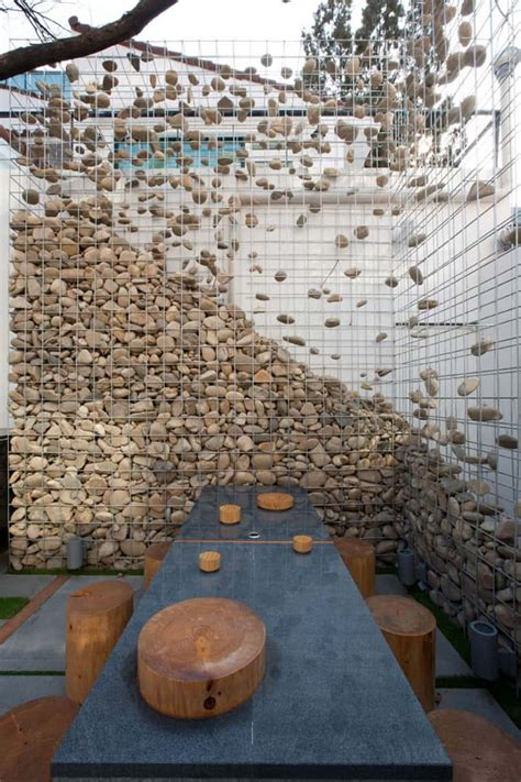 walls and gabion fences a stylish alternative for beautiful homes
