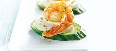canapes with prawns jumbo shrimp canapés with chili lime recipe dairy