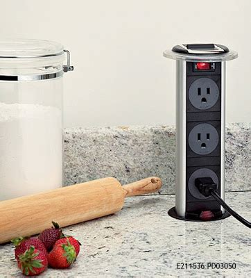 pop up electrical outlet for kitchen island kitchen and residential design cool power source for a 9736