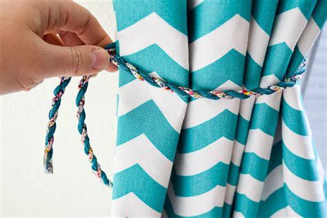Diy Magnetic Curtain Tie Backs