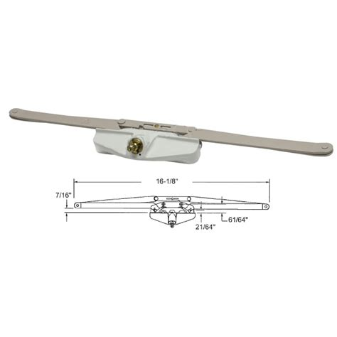 truth hardware   roto gear awning window operator