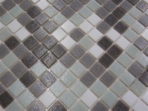 Glasmosaik Fliesen Pool Dusche Glas Mosaik Grün Grau