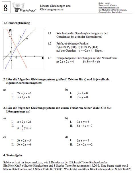 lineare gleichungssysteme textaufgaben aufgaben lineare