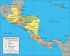 central-america-map - Meriah Nichols