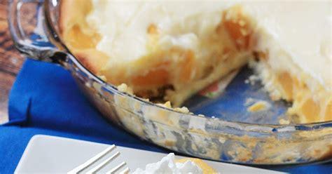 Peaches Cream Pie Mostly Homemade Mom