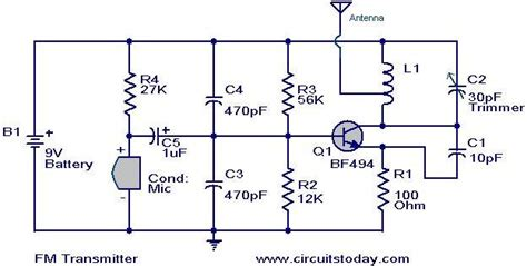 Simplest Transmitter Modulation Circuit With