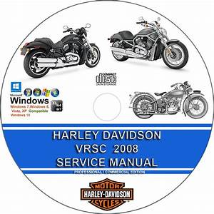 Harley Davidson Vrsc Models 2008 Service Repair Manual And