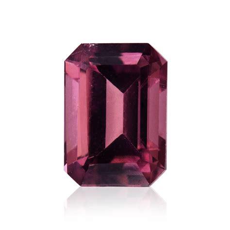 carat pink tourmaline emerald shape sku