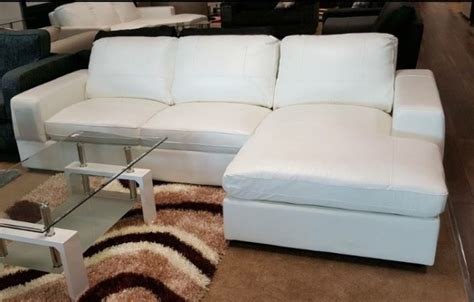 White Loveseats For Sale by Brand New White Leather Corner Sofa For Sale In Finglas