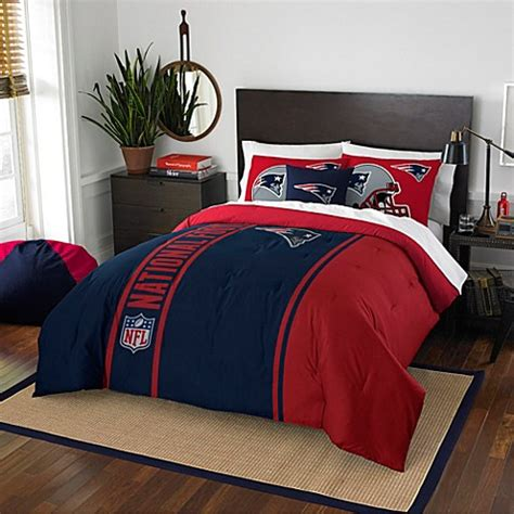 patriots comforter queen nfl new patriots bedding bed bath beyond