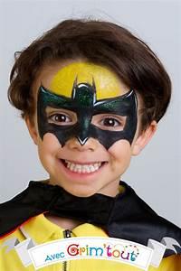 Maquillage Garcon Halloween : carnaval tuto maquillage gar on batman ~ Farleysfitness.com Idées de Décoration