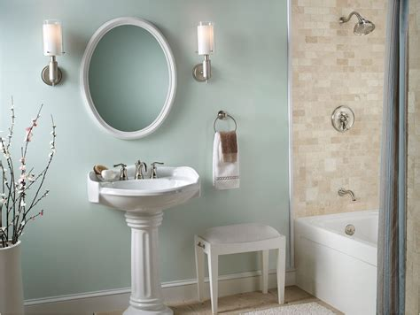 country bathroom ideas for small bathrooms country bathroom design idea quot wythe blue quot walls