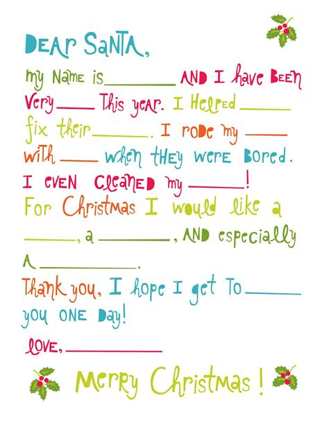 printable letter to santa with the rainy day printable city santa letters 61211