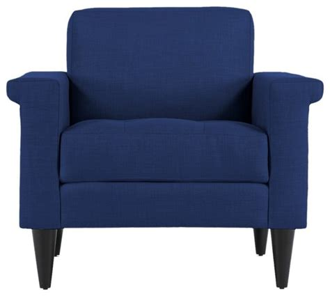 the coronado chair royal blue modern armchairs and