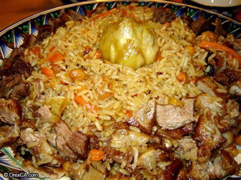 cuisine ouzbek cuisine of uzbekistan uzbek national dish plov