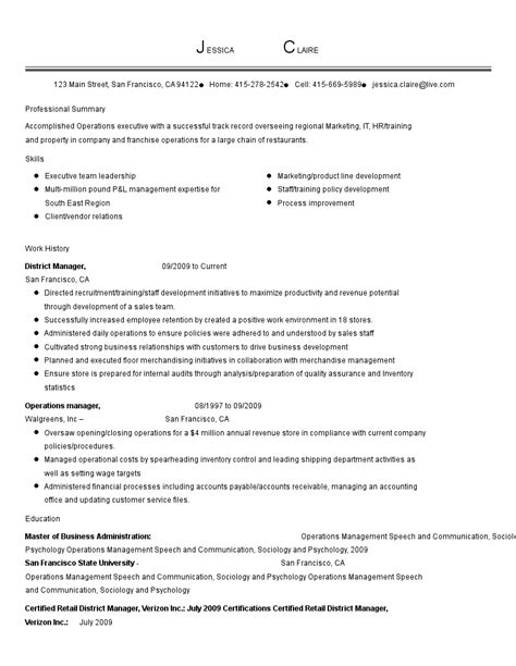 resume examples  industry job title livecareer