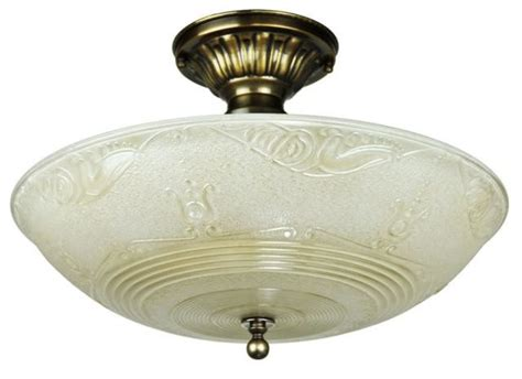 vintage hardware lighting antique glass ceiling bowl