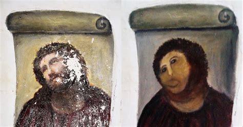 botched restoration   century spanish fresco