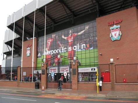 anfield road liverpool fc liverpool stadium wallpapers