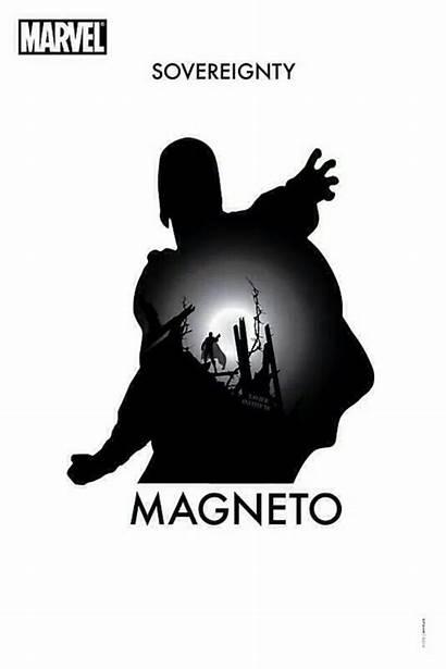 Marvel Silhouette Comic Comics Magneto Superhero Villains