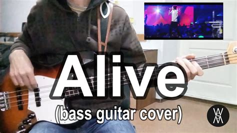 Alive  Hillsong Y&f (bass Guitar Cover) Youtube