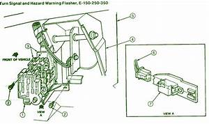 1993 Ford E250 Turn Signal Fuse Box Diagram  U2013 Circuit