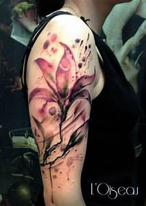 36+ Latest Lily Tattoos On Sleeve