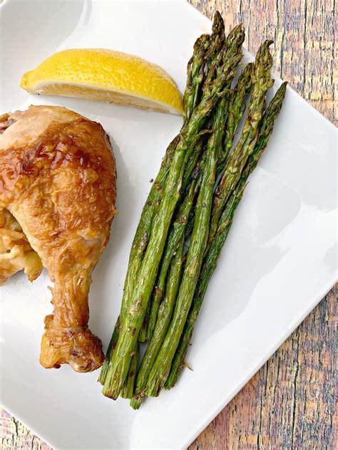 fryer air asparagus roasted easy beans vegan quick roast vegetables cook recipe chicken long plate keto veggies baked