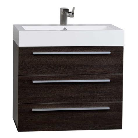 wall mounted bathroom vanity modern 29 5 inch wall mounted single bathroom vanity set