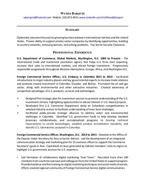 State Resume Sles by Cv Help United States