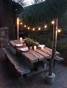 Eclairage Terrasse Bois : 1001 id es id es pour la maison pinterest jardins ~ Melissatoandfro.com Idées de Décoration