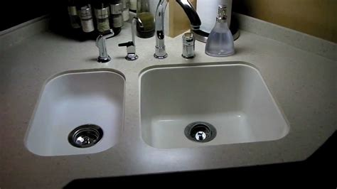How To Whiten A Corian Sink In An Rv  Youtube
