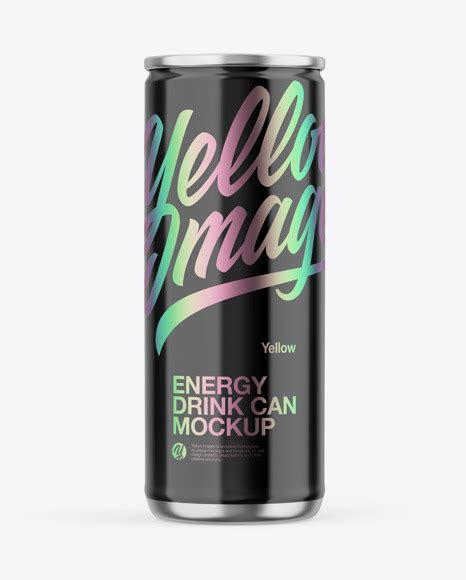 Download this image now with a free trial. Metallic Can W/ Glossy Finish Mockup in Can Mockups on ...