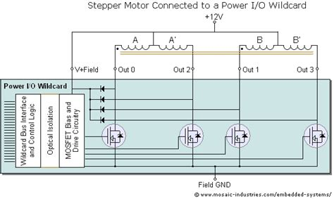 Stepping Motor Lead Wiring Diagrams Single Phase 3 on