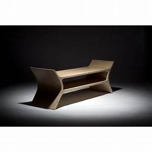 Banc Exterieur Design : banc d 39 ext rieur design scandinave en bois ~ Teatrodelosmanantiales.com Idées de Décoration