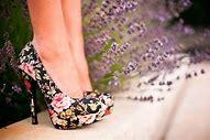 туфли на каблуке бежевого цвета