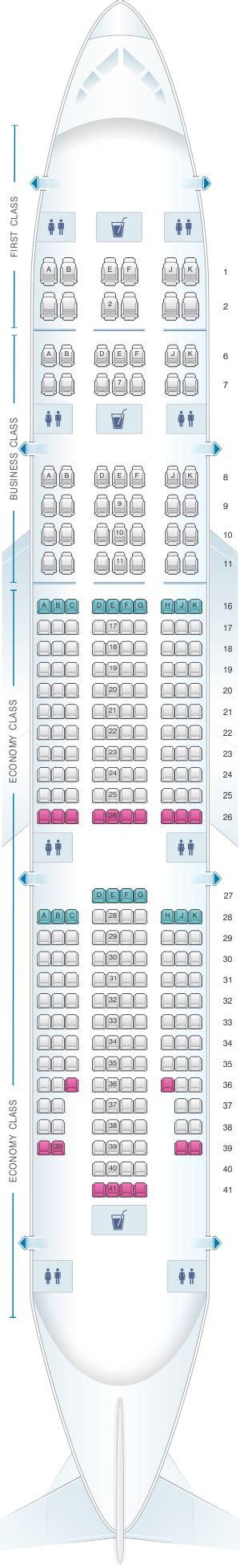 plan si es boeing 777 300er air plan de cabine emirates boeing b777 200 three class