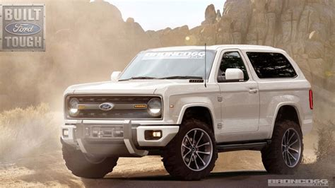 Ford Bronco 2020 by 2020 Ford Bronco Renderings Photo Gallery Autoblog