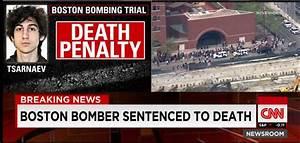 """CNN Breaking News on Twitter: """"Boston Marathon bomber ..."""