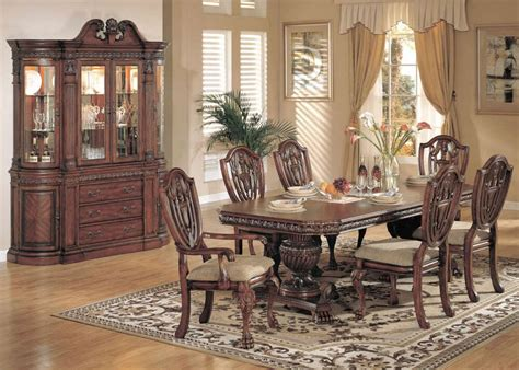 China Cabinet And Dining Room Set by Reuben 9 Formal Dining Room Set China Cabinet New Ebay